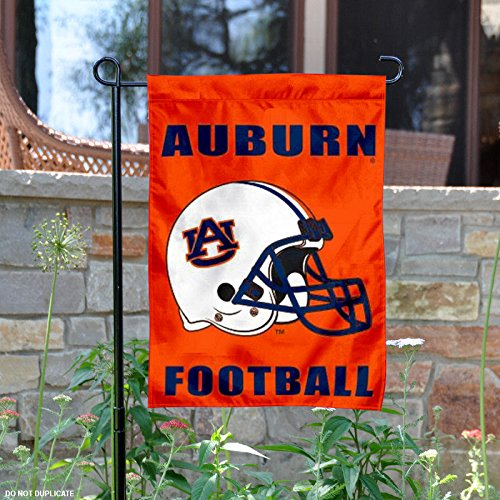 Auburn Tigers Football Helmet Garden Flag