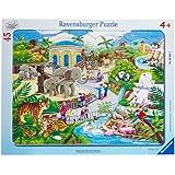Ravensburger - 06661 2 - Puzzle - Visite Du Zoo