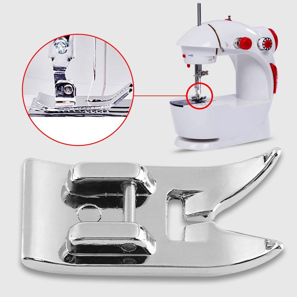 15pcs Doméstica máquina de coser prensatelas pies Juego de accesorios diversos tipos kit de prensatelas para Brother Cantante Janome Feiyue Juki: Amazon.es: ...