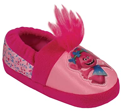 b38dbb7173ae4 Favorite Characters Trolls Poppy Pink A-Line Slippers Toddler/Little Kid