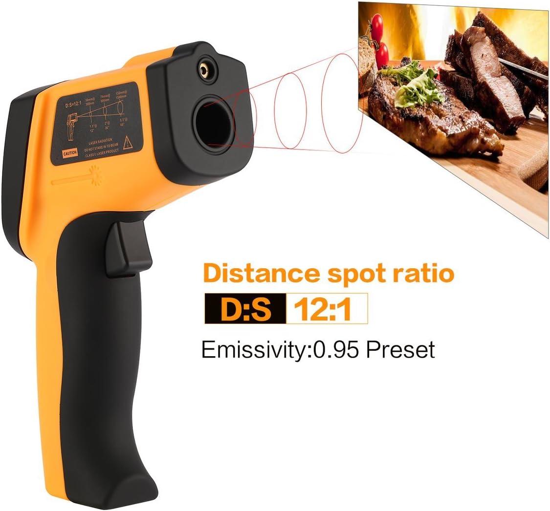 Jullyelegant BENETECH Digital GM700 Thermomètre Infrarouge
