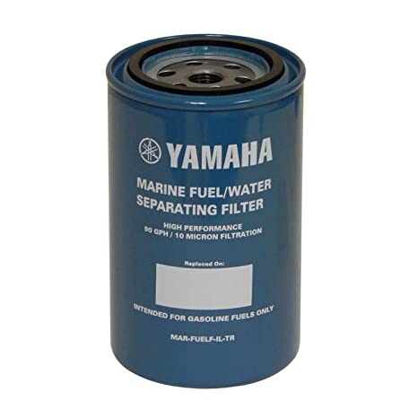 amazon com: yamaha outboard mar-fuelf-il-tr 10-micron fuel water separating  filter 90gph: automotive