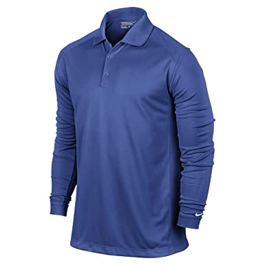 Nike Golf Mens Dri Fit Victoria Polo de Manga Larga Camiseta Juego ...