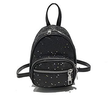 Eeayyygch Mochilas Mochilas Pequeñas Bolsos Estrellas Paquete Elegante Simplicidad Rojo (Color : Negro, tamaño : -): Amazon.es: Hogar