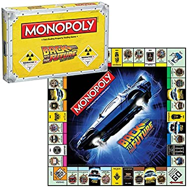 Back To The Future 30th Anniversary Film Trilogy Edition Monopoly Board Game