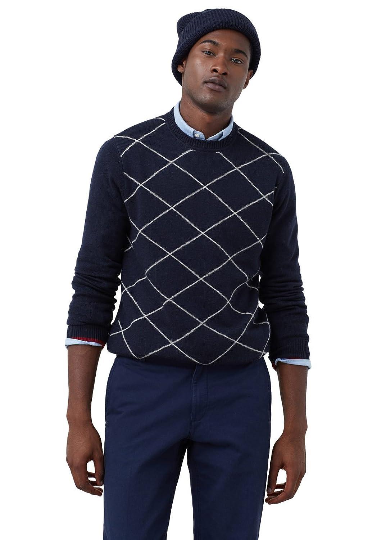 MANGO MAN - Pullover mit Pullover rautenmuster