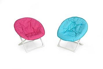 Lilo Kids Moon Chair Assorted - Blue/Pink  sc 1 st  Amazon UK & Lilo Kids Moon Chair Assorted - Blue/Pink: Amazon.co.uk: Garden ...