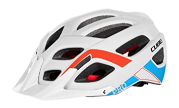 Cube Casco MTB AM Pro, TEAMLINE WHITE