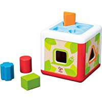Hape E0507 Shape Sorting Box Toddler Toy, Multicolor
