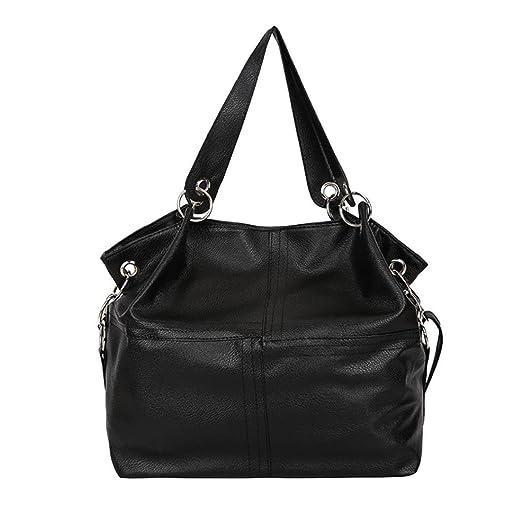 e1996902550561 Women's Leather Shoulder Bags Splice Corssbody Bag Handbag Fashion Vintage  Tassel Big Capacity Tote Shoulder Bags
