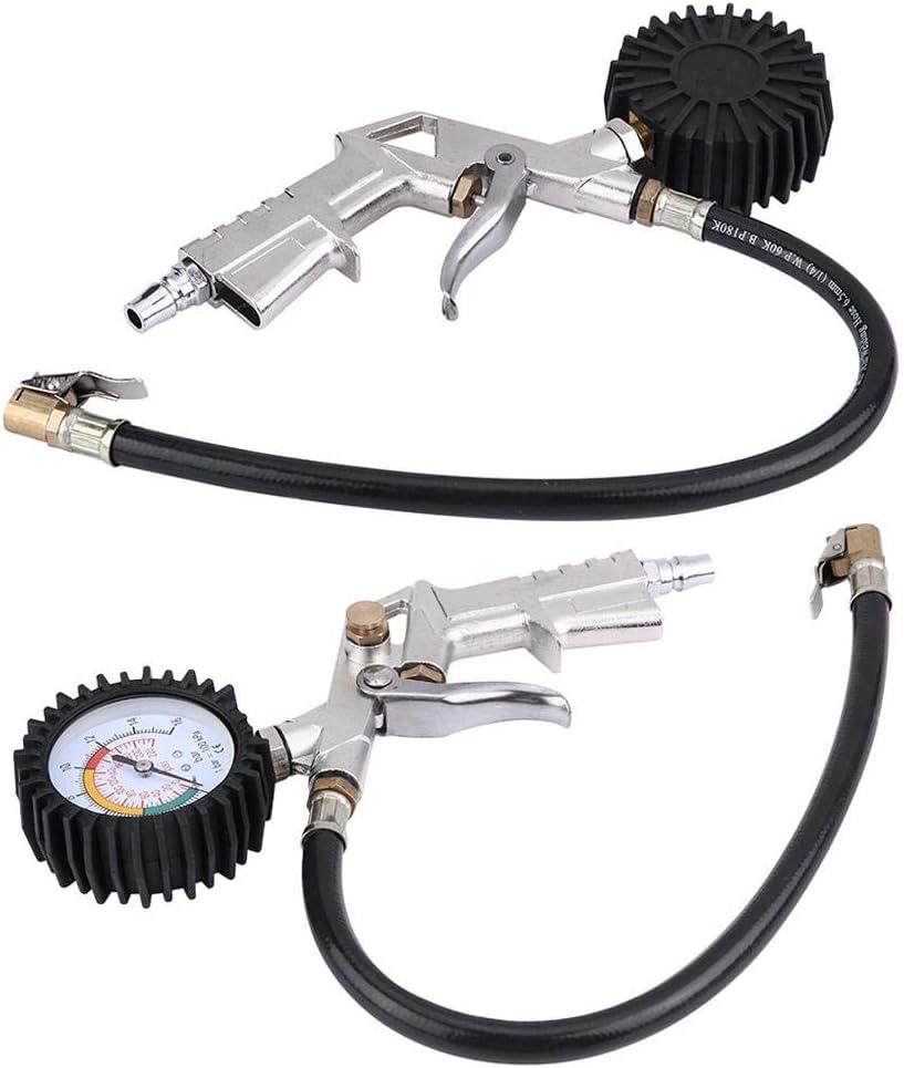 tronc moto pneu pneu pression cadran jauge gonflement de lair Pistolet /à pompe Pistolet /à air comprim/é