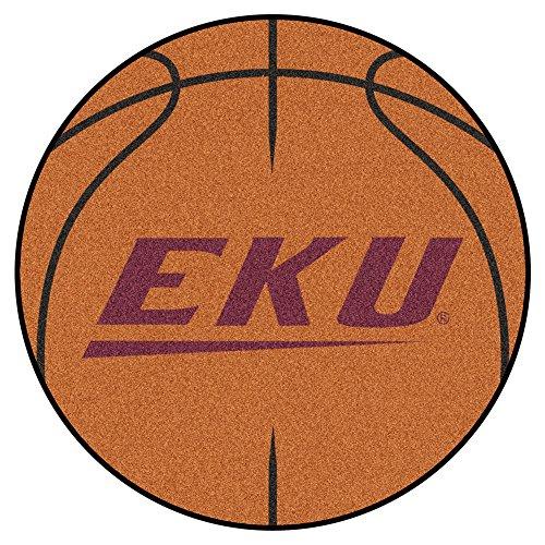 FANMATS NCAA Eastern Kentucky University Colonels  Nylon Face Basketball Rug