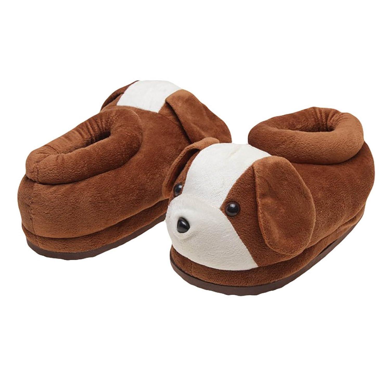 YOUJIA Morbido Animali Ciabatte di Peluche Invernali Pantofole da camera  Calde Comode Scarpe per Adulto: Amazon.it: Scarpe e borse