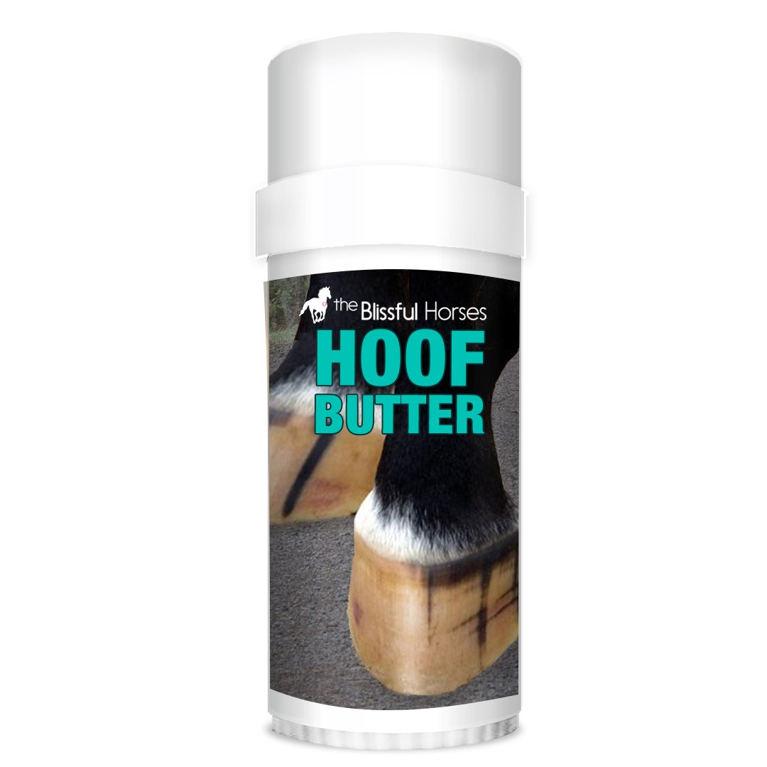 The Blissful Horses Hoof Butter All Natural Support for Your Horse's Hooves, 2-Ounce by The Blissful Dog
