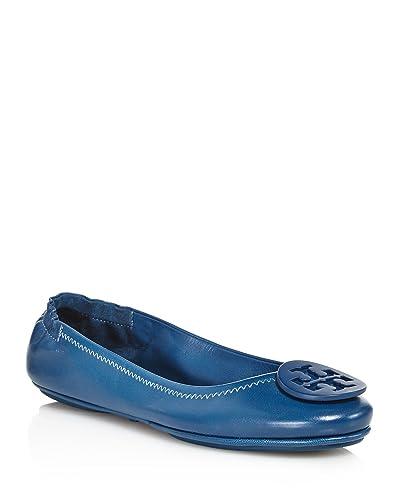 Tory Burch Symphony Blue Ballet Flats 10