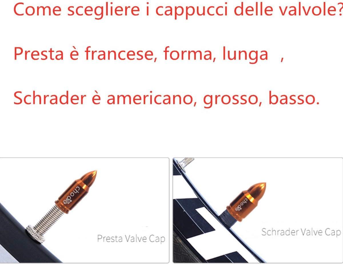 Details about  /2 pezzi Tappi valvola per pneumatici per bicicletta Tappo per valvola per E9S4
