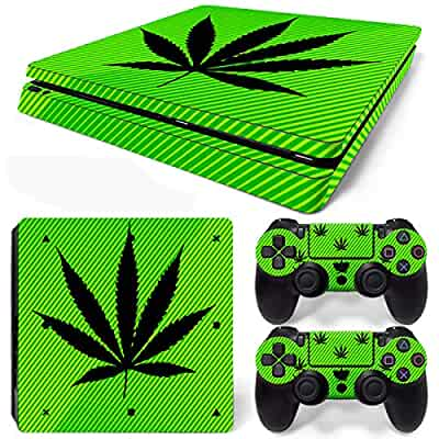 Ps4 Slim Sticker Console Decal Playstation 4 Controller Vinyl Ps4 Skin 420 Skin Faceplates, Decals & Stickers
