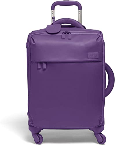 Lipault – Original Plume Spinner 55 20 Luggage – Carry-On Rolling Bag for Women – Light Plum