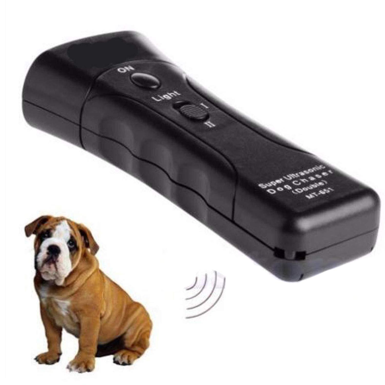 Ovanpa 2019 Best-Ultrasonic Anti Dog Barking Pet Trainer LED Light Gentle Chaser Petgentle Style by Ovanpa