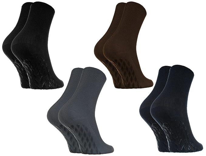 50 opinioni per 2,4 o 8 paia di calzini ANTISCIVOLO SENZA PRESSIONE per i Diabetici, di Cotone