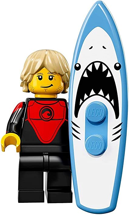 LEGO-MINIFIGURES SERIES 17 X 1 SURFBOARD FOR THE PROFESSIONAL SURFER SERIES 17