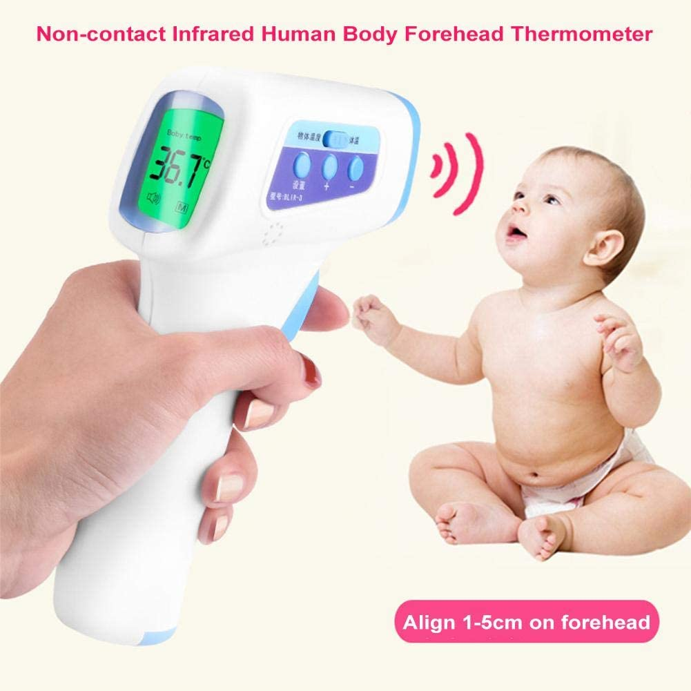 ber/ührungsloses Infrarot-Thermometer f/ür den menschlichen K/örper Finelyty Infrarot-Thermometer elektronisches Baby-Stirn-Thermometer f/ür Erwachsene