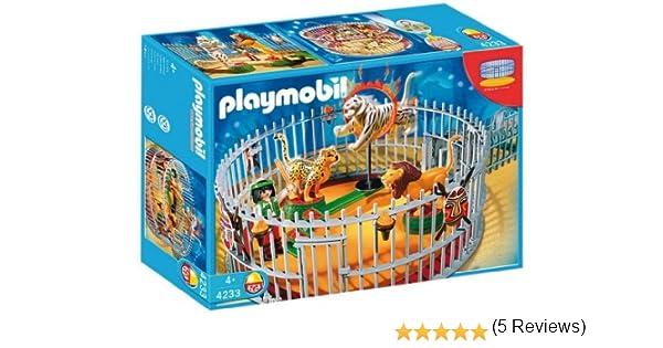 Playmobil 4233 - City Life Domador - Jaula de leones: Amazon.es: Juguetes y juegos