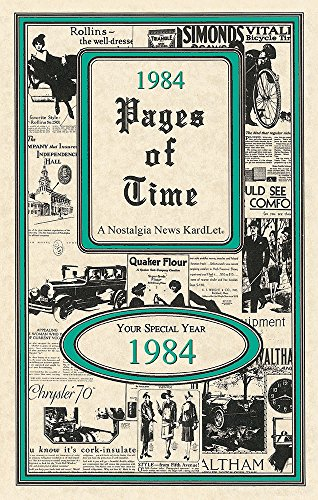 1984 Pages of Time Kardlet (PT1984) 35th Gift