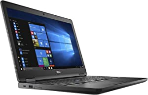 Dell Precision M3520 Mobiel Workstation Laptop, 15.6in FHD (1920x1080), Intel Core 7th Gen i5-7440HQ, 16GB, RAM, 512GB Solid State Drive, Windows 10 Pro (Renewed)