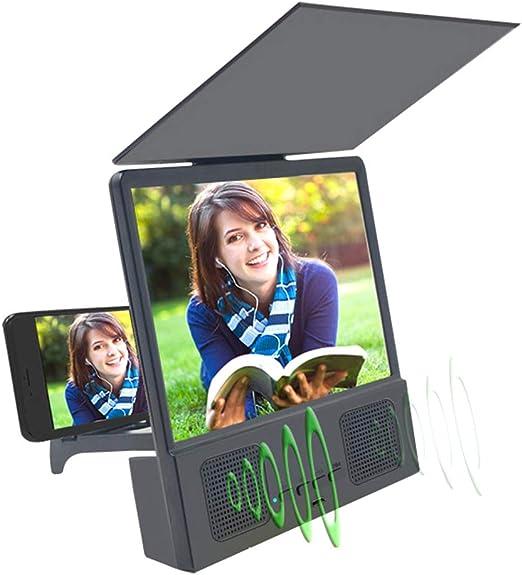 Lupa para teléfono, pantalla plegable 3D HD para smartphone, lupa ...