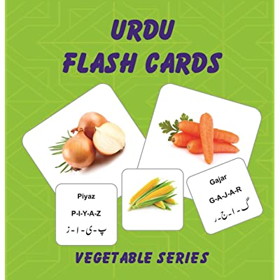 UAMD Vegetable Series Flash Cards: Toys & Games [5Bkhe0800669]