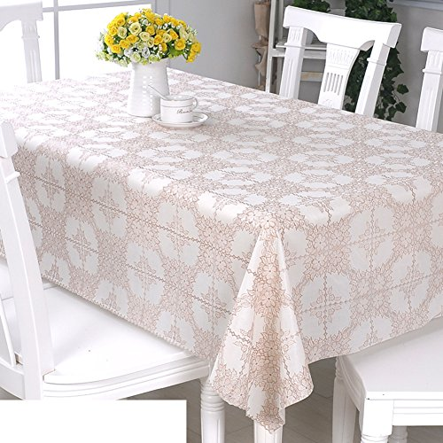 60 Cm Cream (PVC table cloth/[Waterproof wallpaper]/Disposable oil cloth/ oil-proof round tablecloth-I)