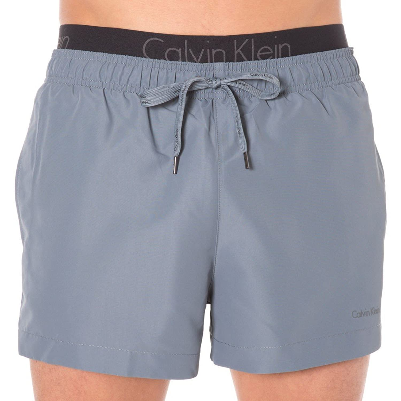 Calvin Klein Short Drawstring Waistband Swim Shorts