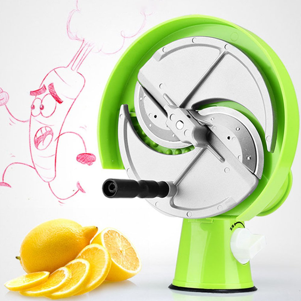 TTLIFE Multi-function Hand Slicer Cutting Machine of Fruits and Vegetables Home Kitchen Tools and Commercial Hand Slicing Saves Time and Effort