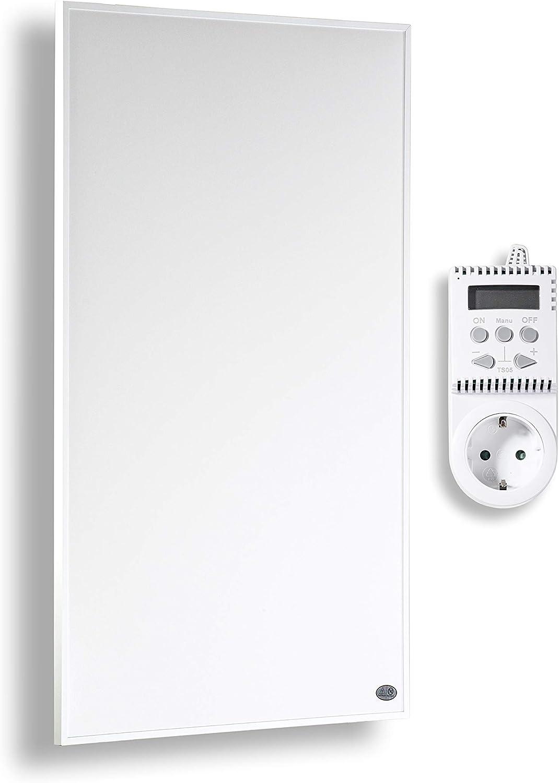 Könighaus calefacción por infrarrojos 800 y 1000 vatios con MOT + 10 años de garantía ?Infrarotheizung Para 12-34M² (1000W + termostato)
