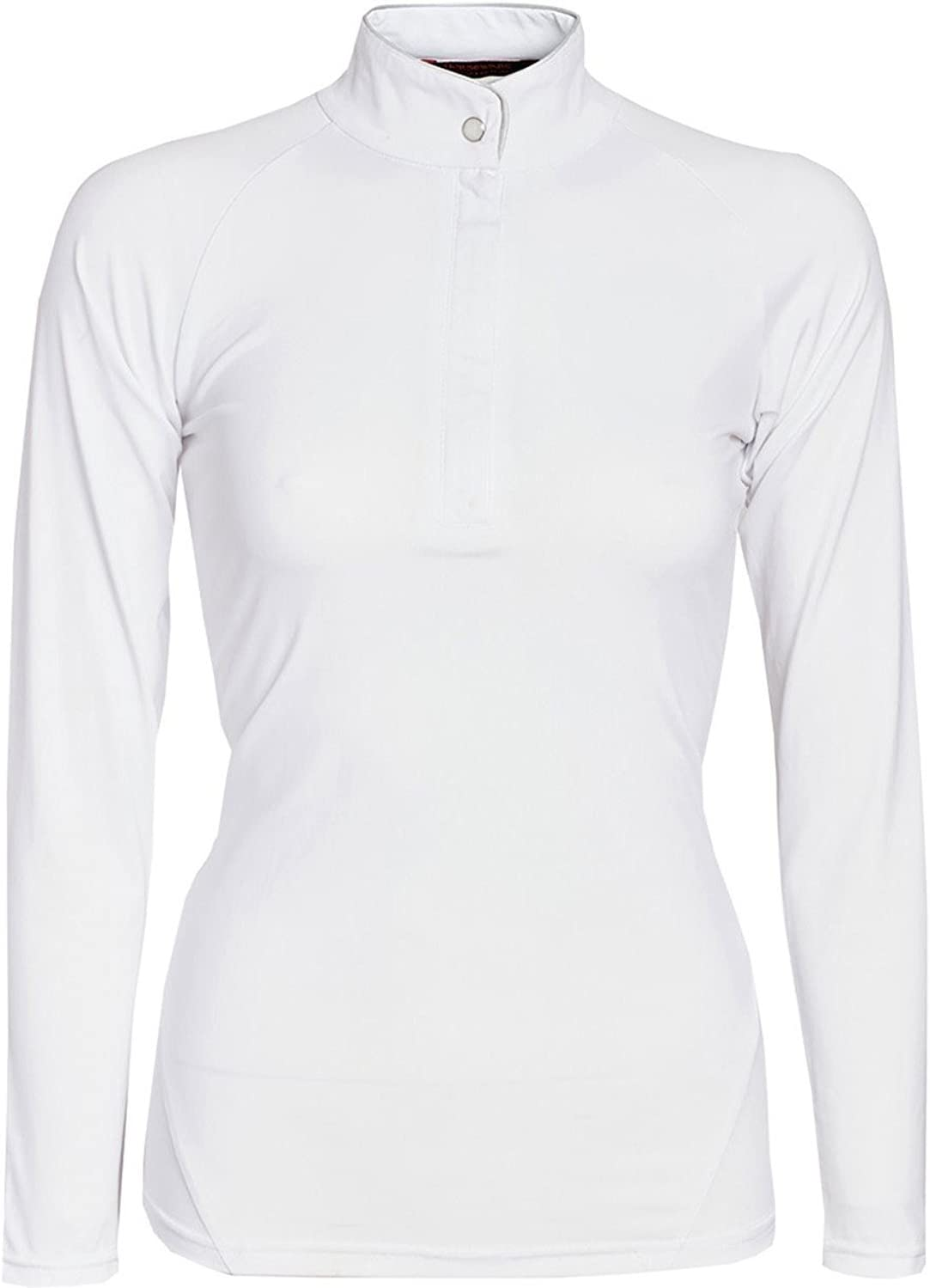 Horseware Ladies Sara Competition Long Sleeve Shirt Top Clothing