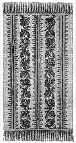 (1879 Bedroom Rug Crochet Pattern)