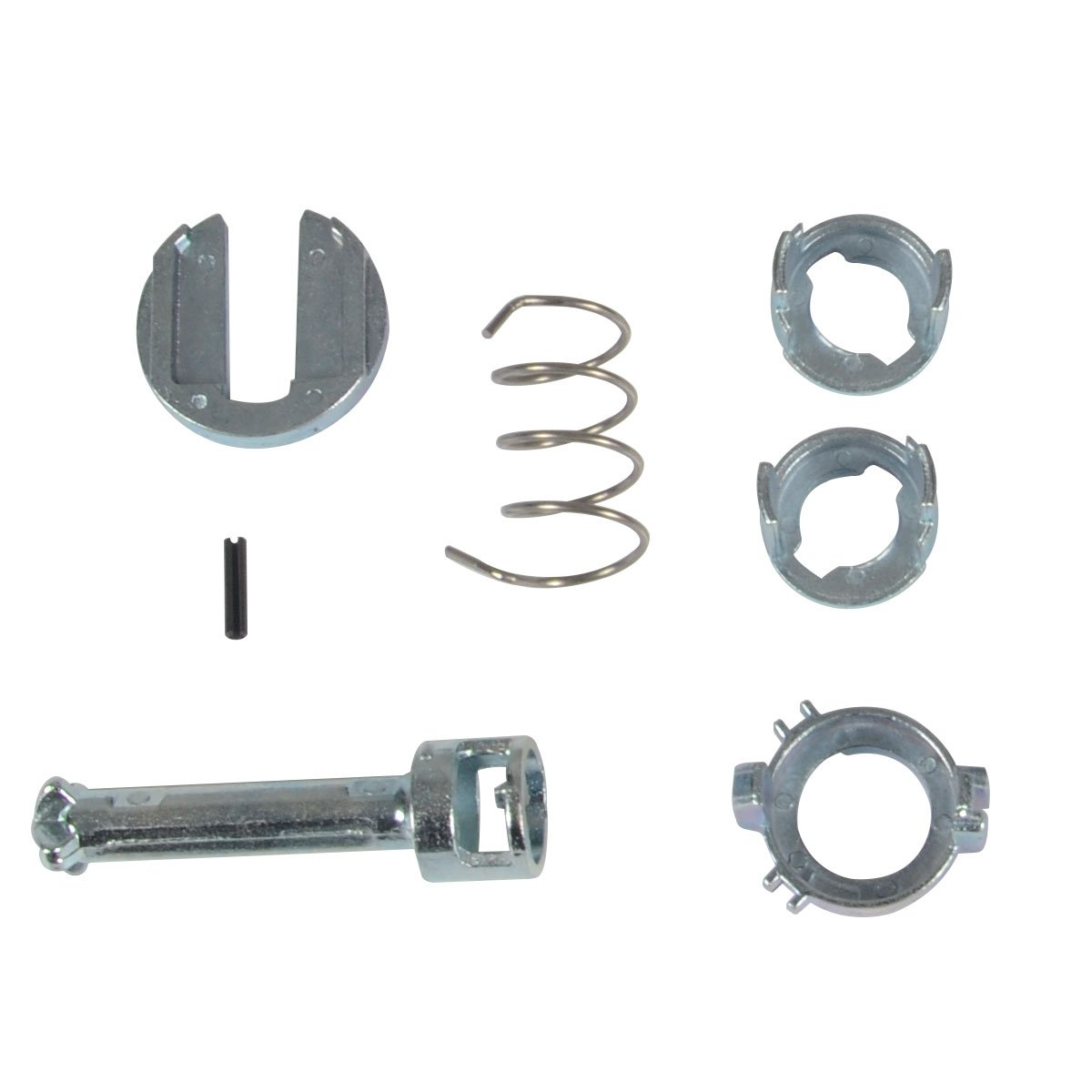 Door Lock Repair Kit for BMW E46 Series 320i 323i 325Ci 328i 330i 2001-2006 Front Left or Right 7-PC Set PremiumpartsWhosale