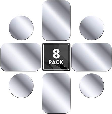 Mennyo Metallplatte 8 Stück Für Magnet Kfz Handy Amazon De Elektronik