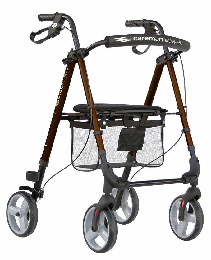 Care Mart Lite Walk andador con ruedas muy ligero, diseño ...