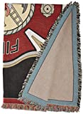 Firefighter Shield Throw - 70 x 53 Blanket/Throw