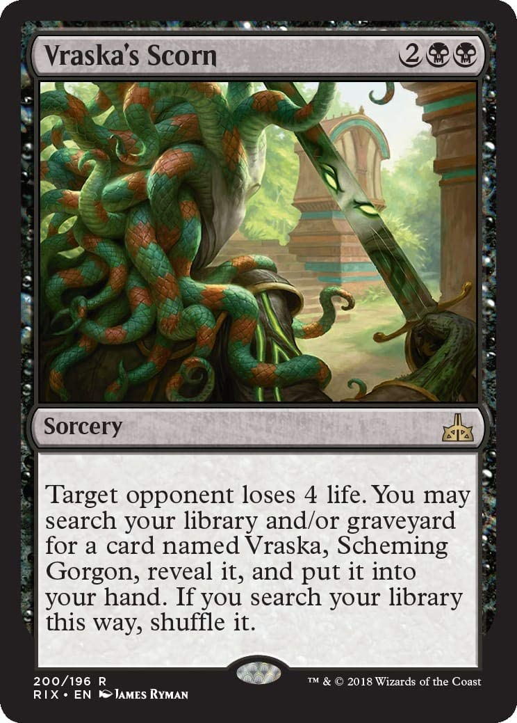 SCHEMING GORGON Planeswalker Deck Rivals Magic the Gathering 1x VRASKA MTG