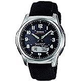 [カシオ] 腕時計 ウェーブセプター 電波ソーラー WVA-M630B-1AJF ブラック