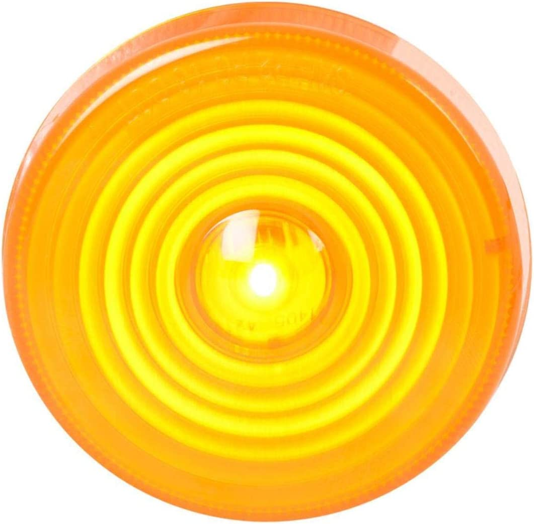 GG Grand General 75795 Amber 2.5 Inches Highway 1 LED Marker Sealed Light