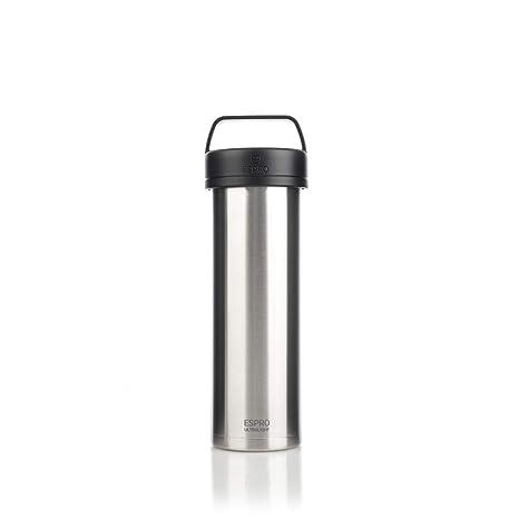 espro 17678 termo de viaje con filtro de café, acero ...