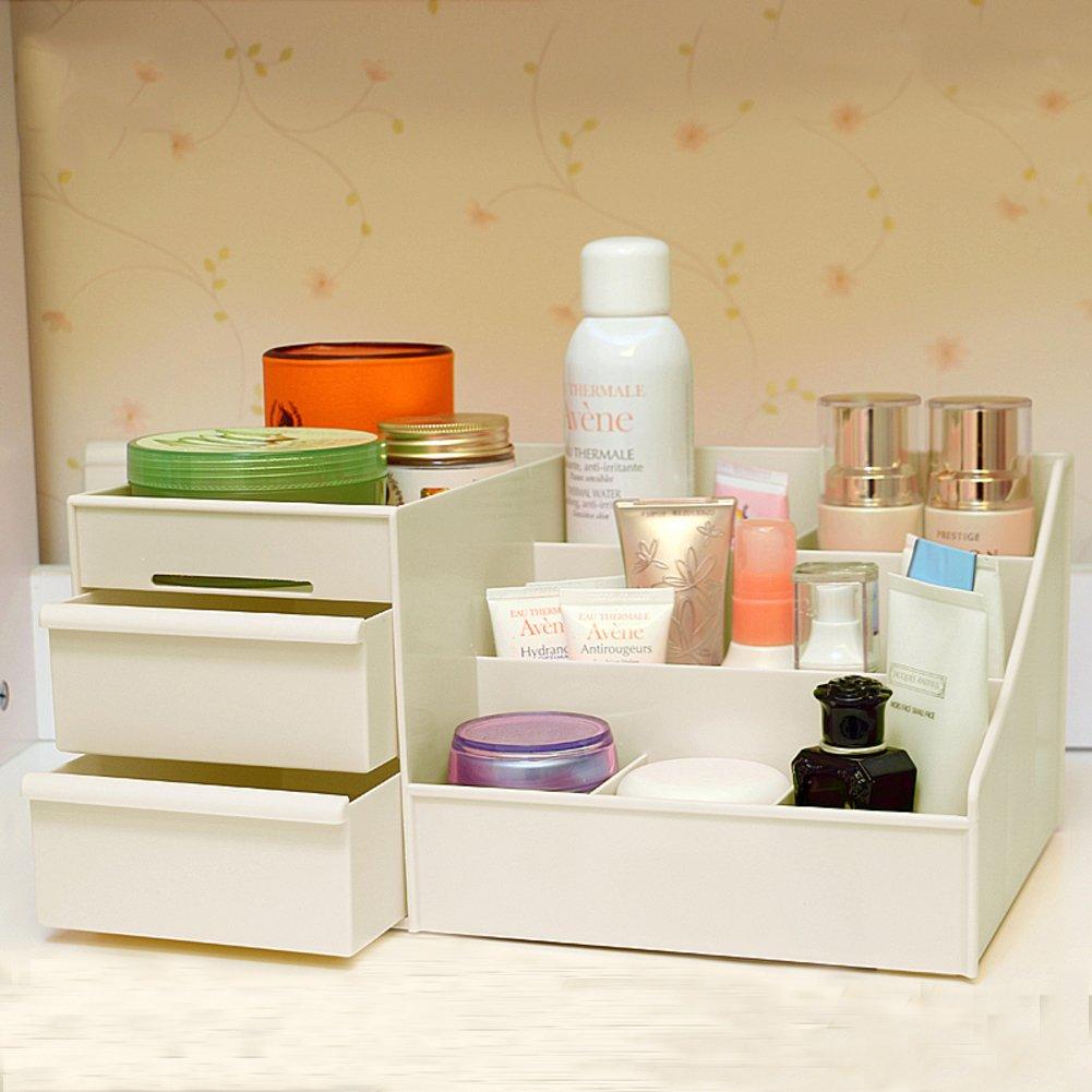 Rart Caja de almacenaje de maquillaje resistente al agua ...