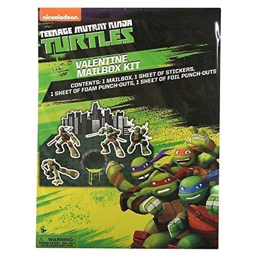 Teenage Mutant Ninja Turtles Valentine's Exchange Mailbox Kit