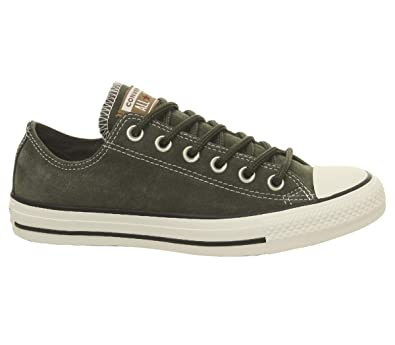 Converse Chuck Taylor All Star Base Camp Mens Green Trainers  Amazon ... 201267be0