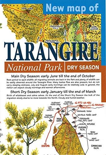 - New Map of Tarangire National Park