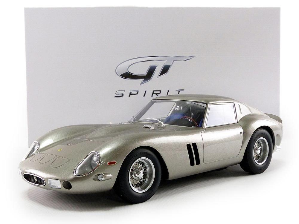 GT Spirit/ Silver /Ferrari 250/GTO 1962/Model Car 1//12/Scale zm118,